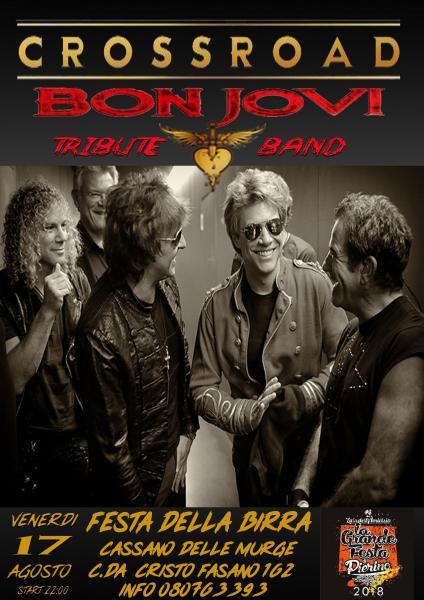 Crossroad Bon Jovi Tribute Live@Festa della Birra Cassano