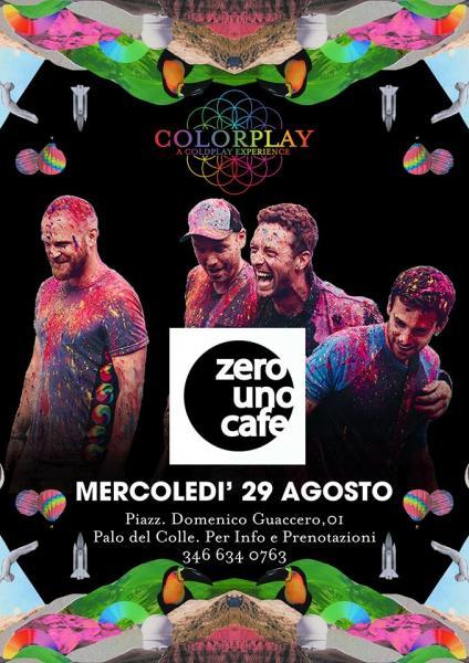 Colorplay a Coldplay experience live Zerouno Cafè - Palo del Colle