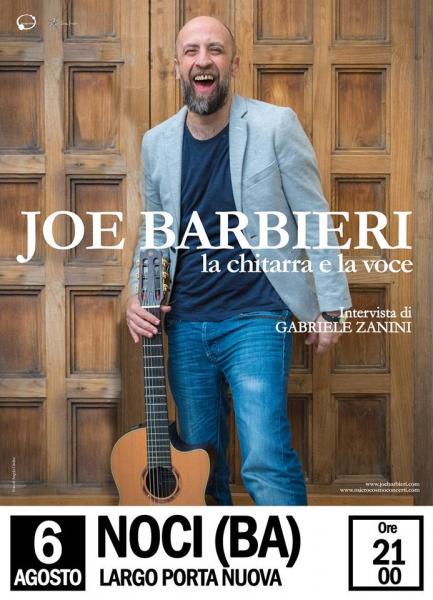 """Incontro/Concerto con JOE BARBIERI """"La chitarra e la voce"""""""