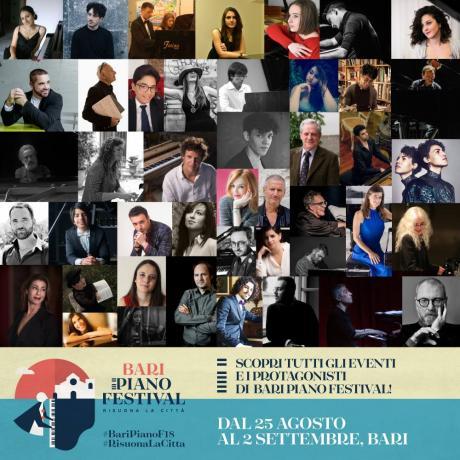 Bari Piano Festival - Piano Lessons, con Michael Nyman