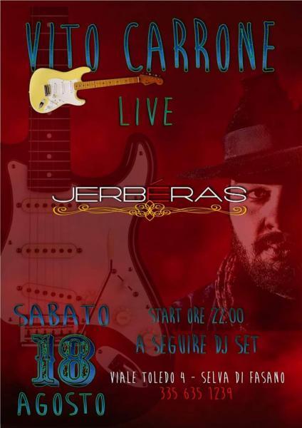 Vito Carrone Live at Jerbèras