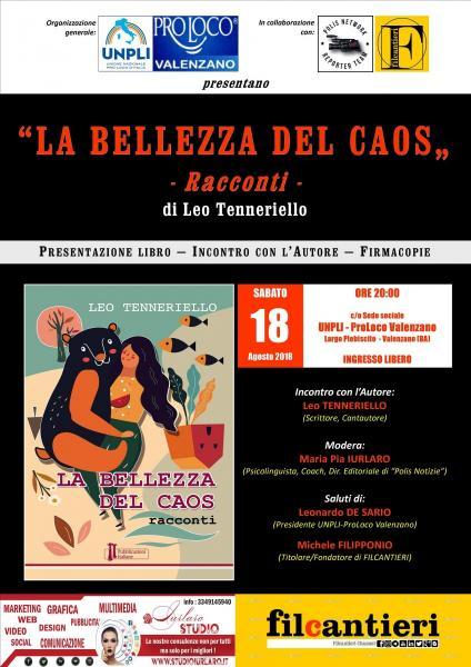 """""""LA BELLEZZA DEL CAOS"""" (libro) di Leo Tenneriello"""