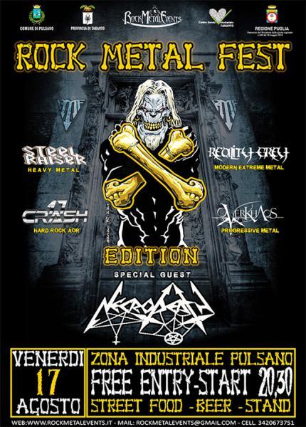 Rock Metal Fest X edizione