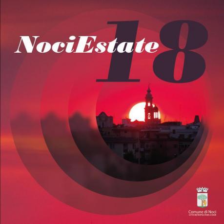 Noci Estate 2018 - LARGO ALL'AUTORE, LARGO AI LIBRI
