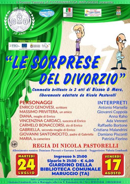 LE SORPRESE DEL DIVORZIO