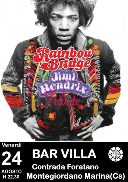 Rainbow Bridge in concerto - Jimi Hendrix Tribute live at Bar Villa