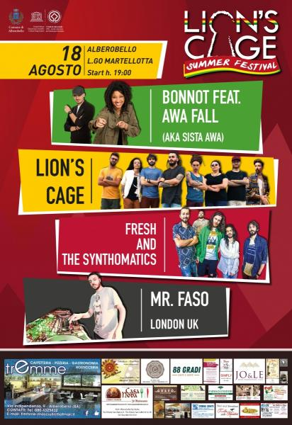 ♪ Lion's Cage Summer Festival ♪ w/ Bonnot feat. Awa Fall