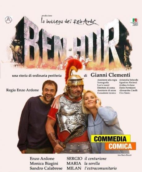 """19^ Ed. Giovinazzo Teatro """"BEN HUR"""" Di Gianni Clementi"""