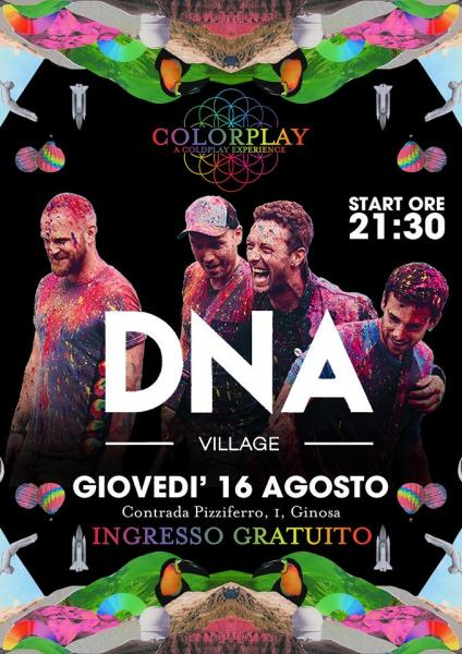 Colorplay a Coldplay experience live DNA Village