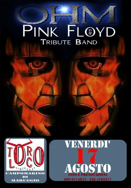 OHM PINK FLOYD TRIBUTE LIVE AL TORO LOCO