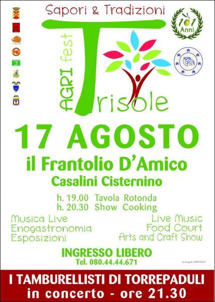"""Agri Fest Trisole: """" Il Frantolio"""" di Pietro D'Amico Festeggia 101 anni di attività!"""