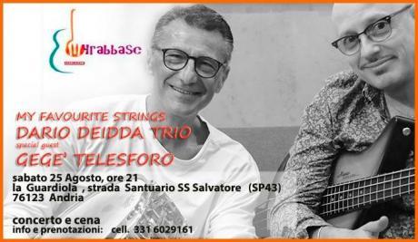 MY FAVOURUTE STRINGS - Dario Deidda trio , special guest Gege' Telesforo