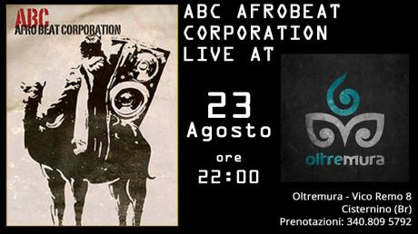 Afrobeat Corporation Live at Oltremura