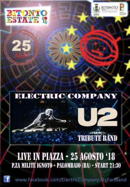 U2 Live Show in Piazza