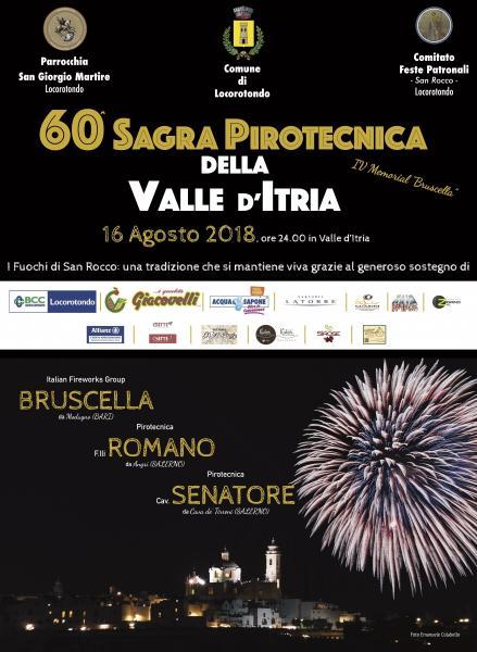 60^ SAGRA PIROTECNICA DELLA VALLE D'ITRIA
