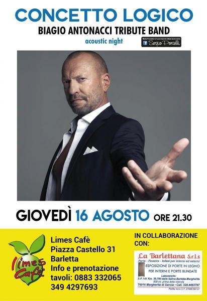 Concetto Logico - Biagio Antonacci Tribute a Barletta