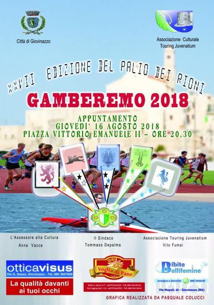 "Touring Juvenatium - Palio dei Rioni ""GAMBEREMO"" - XXVII^ Edizione"