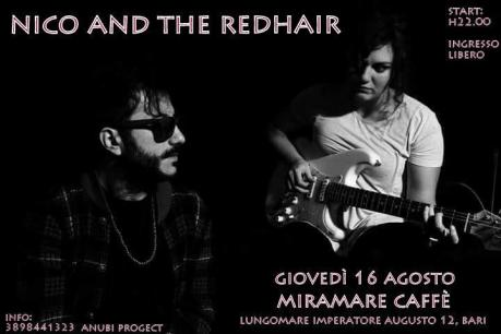 Nico and the Redhair live@Miramare Caffè