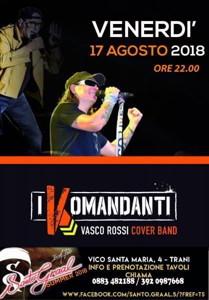 I Komandanti at TRANI - SANTO GRAAL