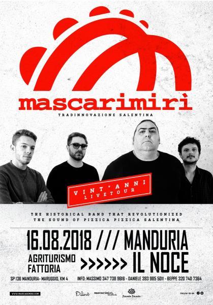 Mascarimirì - Live