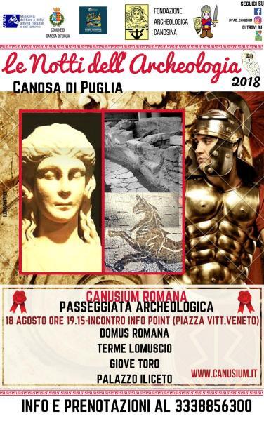 Canusium romana: passeggiata archeologica alla scoperta delle vestigia imperiali