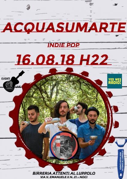 Acquasumarte | LIVE in Birreria