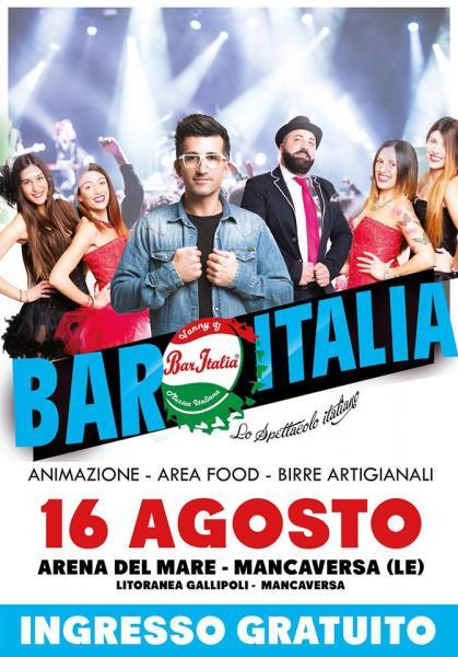 Festival Bar Italia all'Arena del Mare di Mancaversa