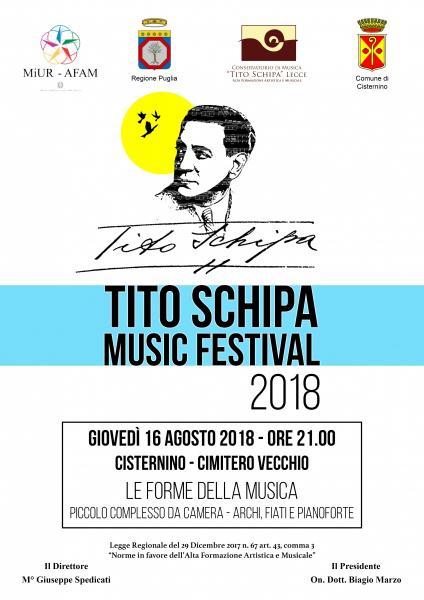 TITO SCHIPA MUSIC FESTIVAL - Le Forme della Musica