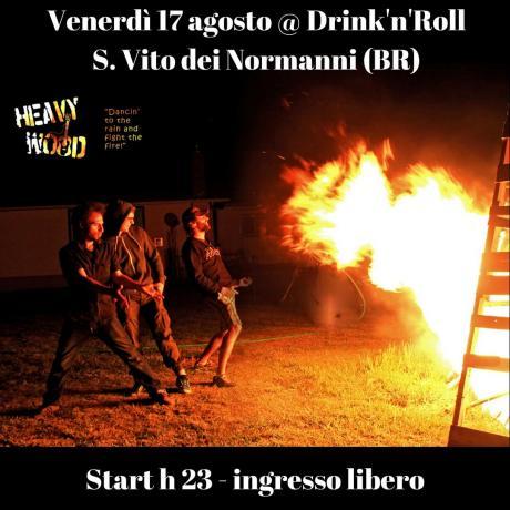 Heavy Wood hard folk live @ Drink'n'Roll - San Vito dei Normanni (BR)