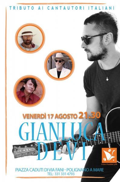 Il Libro Possibile Cafè presenta: Gianluca Devi - Tributo ai Cantautori Italiani @ Polignano a mare