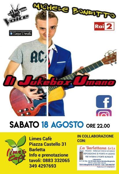 Il Jukebox Umano - Limes Cafè Barletta