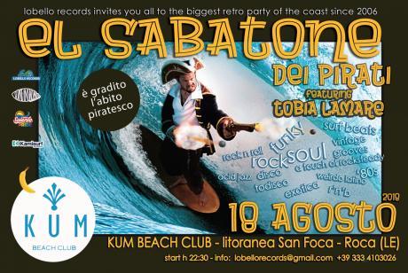 EL Sabatone de Tobia Lamare in versione Pirati al Kum di Roca