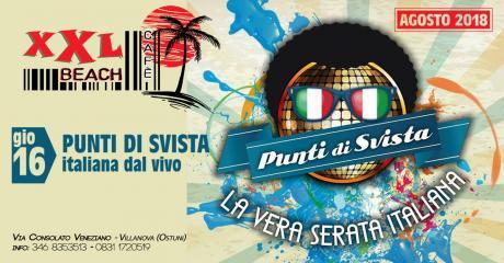 Punti di Svista Live at Xxl Beach Cafè