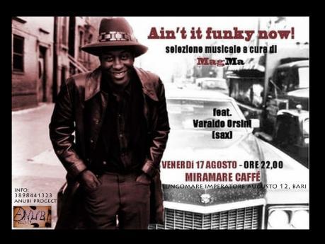 Ain't Funky Now - Dj set and Sax @Miramare Caffè