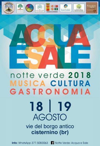 Notte Verde 2018 - Acqua e Sale