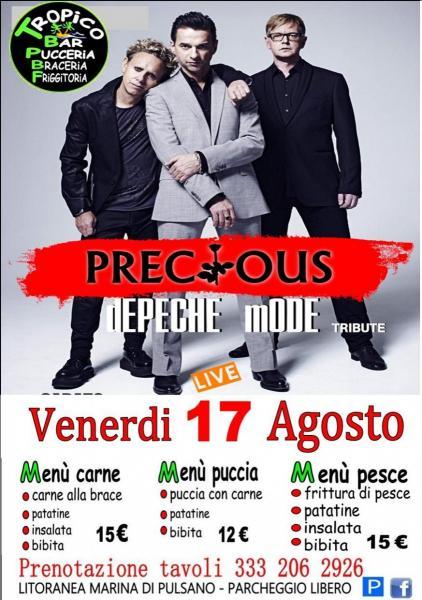 PRECIOUS - Depeche Mode Tribute band