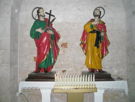 Ricorrenza dei Santi Medici nella chiesa del Sacramento