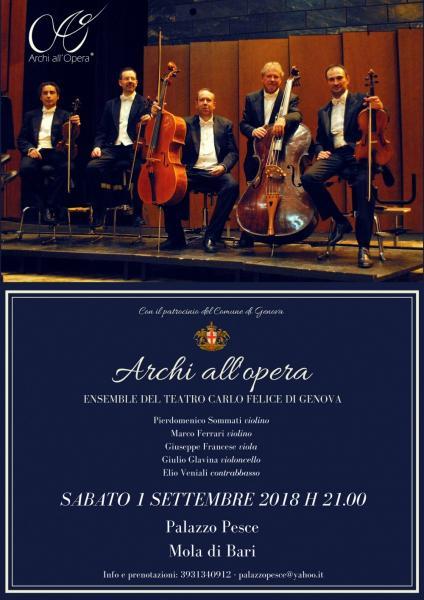 Archi all'opera - Ensemble del Teatro Carlo Felice di Genova