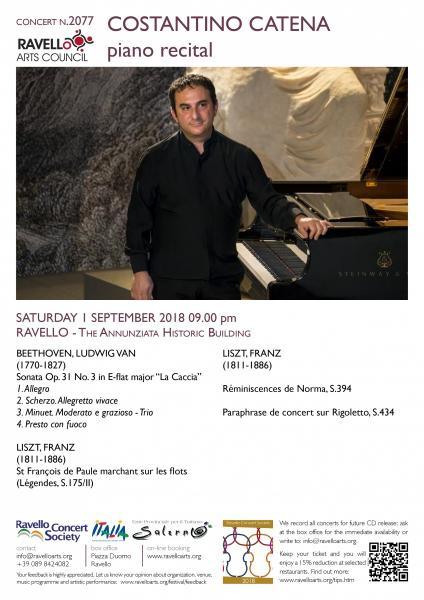 COSTANTINO CATENA piano recital