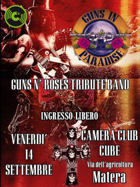 Guns in Paradise - Guns 'n' Roses Tribute Band