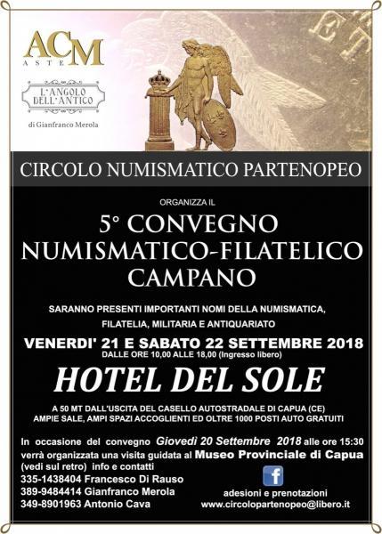 5° Convegno Numismatico Filatelico Campano