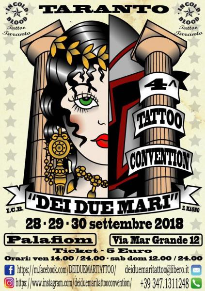 Tattoo convention dei due mari Taranto - 4^ edizione