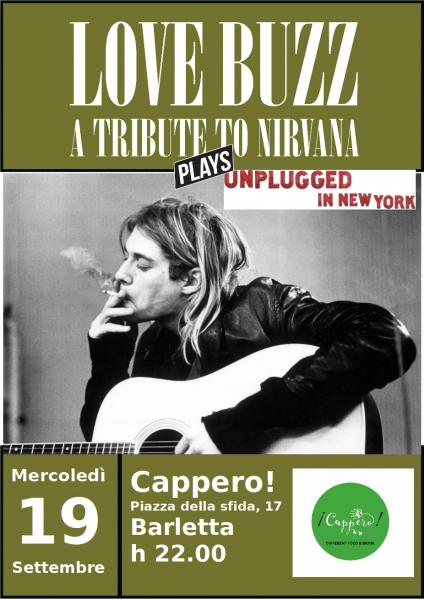 Love Buzz A Tribute to Nirvana Plays Unplugged in New York