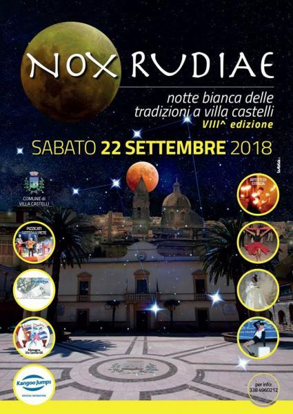 Nox Rudiae (Notte Bianca delle Tradizioni)