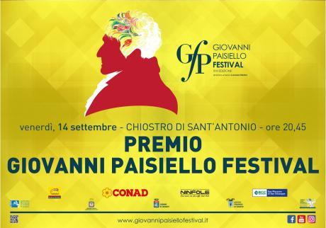 Giovanni Paisiello Festival 2018 - Premio Giovanni Paisiello