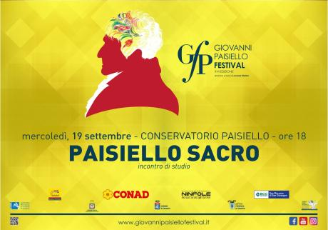 Giovanni Paisiello Festival 2018 - Paisiello e il Sacro