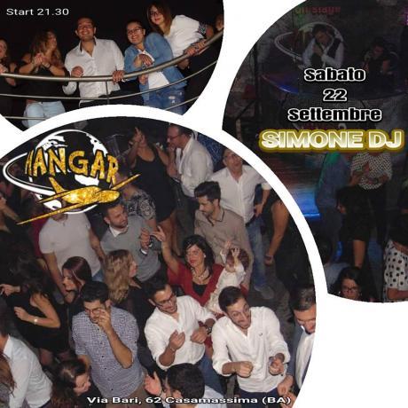 Hangar Disco Pub ospite SIMONE DJ