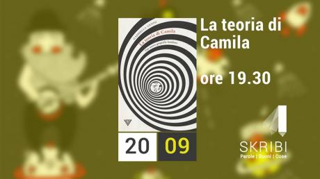 """Presentazione del libro """"La teoria di Camila"""" a Conversano presso la libreria Skribi Parole Suoni Cose"""