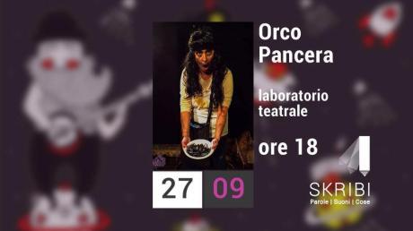Orco Pancera_di e con Teresa Petruzzelli presso la libreria Skribi Parole Suoni Cose_Conversano