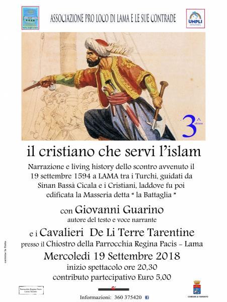 Il  Cristiano Che Servi' L'Islam 3^ Edizione